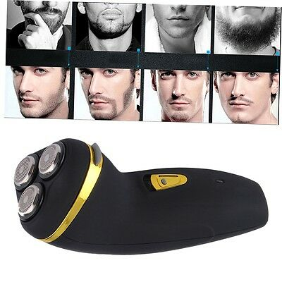 Triple-Head Rechargeable Men's Cordless Rotary Electric Shaver Razor Trimmer GN