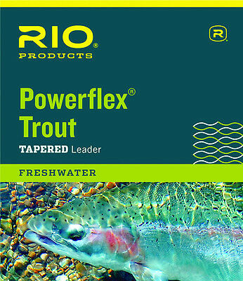 Rio Powerflex Leaders Triple Packs