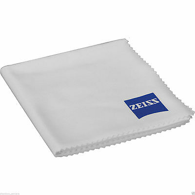 100% New Carl Zeiss Lens Optics Microfiber Cleaning Cloth Cleaner Glasses Filter