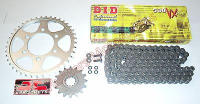 Suzuki GSF1200 Bandit 1995 to 2005 DID X-Ring Chain & JT Sprockets Kit Set