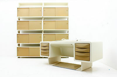 Rare Ernest IGL Bookcase Shelf Wilhelm Werndl Germany 1970`s