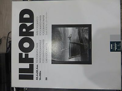 Ilford MGIV RC Deluxe PEARL 16 x 20 in - 40.6 x 50.8 cm 50 Sheets
