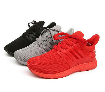 Men Women's Sports shoes Boost Sneakers Running Originals Mens Flux Trainers Red