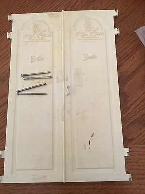 Suzy Goose Wardrobe Doors And 4 Pins
