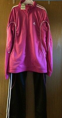 Adidas Girls Tracksuit Age 15-16 Brand New With Tags