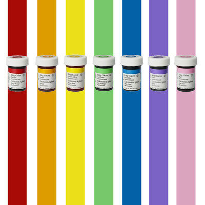 Wilton Concentrated Icing Gel Paste for Cake Decorating Rainbow Color With Pink