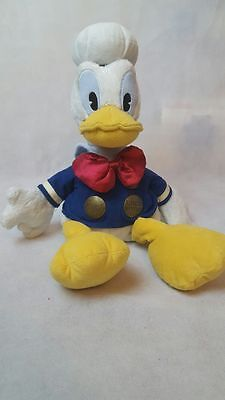 """DISNEY STORE Limited Edition DONALD DUCK 17"""" SOFT TOY"""