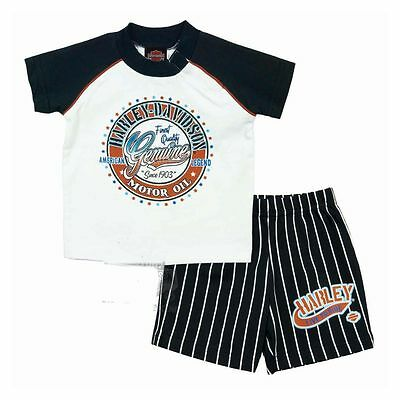 0a8c06d9 Harley-Davidson Toddler Boy Logo T-Shirt & Shorts Gift Set - Kids Outfit
