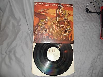 Amon Duul-Live In London 1973 1St Press United Artists Lp