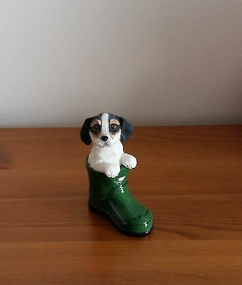 Jack Russell Terrier in Wellington Boot Dog Ornament