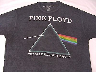 Pink Floyd - Dark Side Of The Moon - Faded Blue - Xl Size T Shirt!