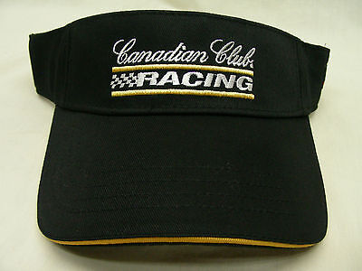 Canadian Club Racing - Andretti Green - One Size Adjustable Strapback Sun Visor!
