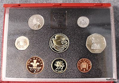1995 United Kingdom British Royal Mint Proof Set UK Great Britain