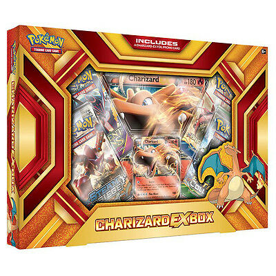 Pokemon TCG Charizard EX Fire Blast Box