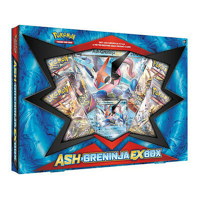 Pokemon TCG Ash-Greninja EX Box