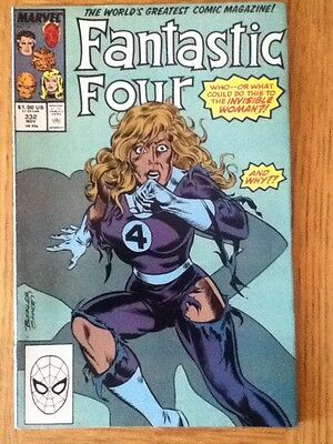 Fantastic Four issue 332 from November 1989 - postal discounts apply