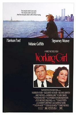 Reproduction Movie Poster on Canvas - Working Girl