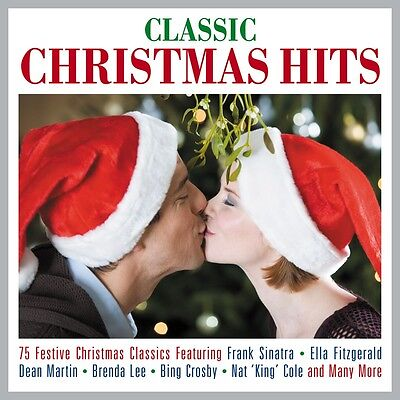 classic christmas hits various artists best of 75 holiday songs music new 3 cd - Christmas Classics Songs