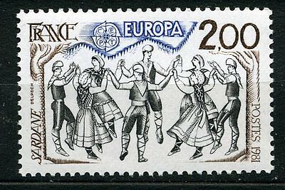 France 1981 2f Europa stamp mint