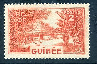 French Guinea 1938 2c mint