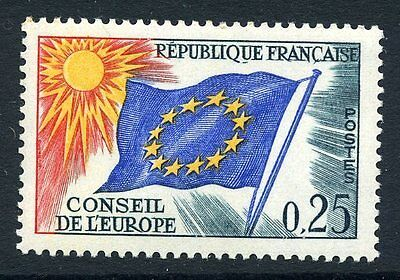 France 1965 Council of Europe 25c mint