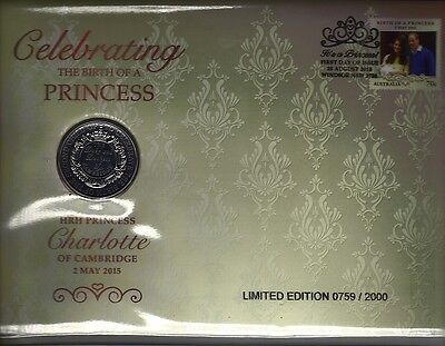 2015 Birth Of A Princess Pnc Only 2000 Issued