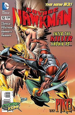 Savage Hawkman #12 (DC)