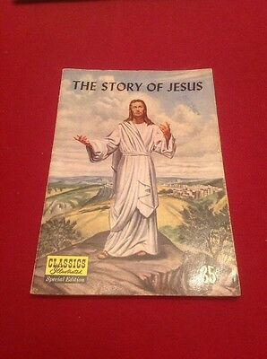 CLASSICS ILLUSTRATED Special Edition THE STORY OF JESUS (1955) VG