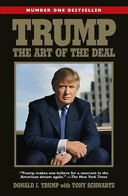 Trump: The Art of the Deal by Donald Trump (English) Paperback Book Free Shippin