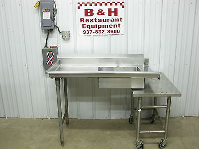 "48"" Stainless Steel Heavy Duty Left Side Hobart Dirty Dish Washer Table Sink 4'"