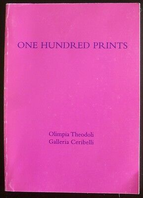 Olimpia Theodoli One Hundred Prints Catalog 2000 16th - 18th century Price Sheet