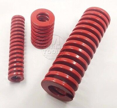 OD 30mm ID 15mm Medium Load Red Mould Die Spring Select Variations