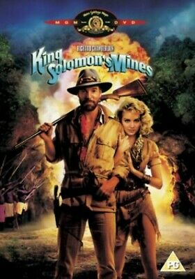 King Solomon's Mines (1986) [DVD] - DVD  5QVG The Cheap Fast Free Post