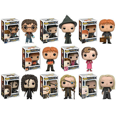 Funko POP! Harry Potter Vinyl Figures - Series 4 - SET OF 8 (Malfoy, Delores++)