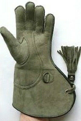 Falconry Nubuck Leather Glove Size Available