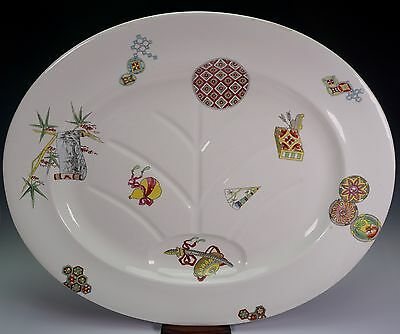 Royal Worcester Porcelain Aesthetic Style Christopher Dresser Platter Well 1875