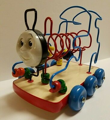 1998 Anatex Thomas the Tank Engine Train Rollercoaster Bead Maze