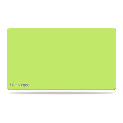 ultra Pro Solid Lime Green Play Mat Artist Series