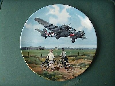 Royal Doulton Collectors Plate Featuring Beaufighter Aircraft