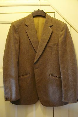 Vintage Guards Thornproof Mens 2Pce Tweed Suit Chest 40 - 42 / Waist 34 - 36