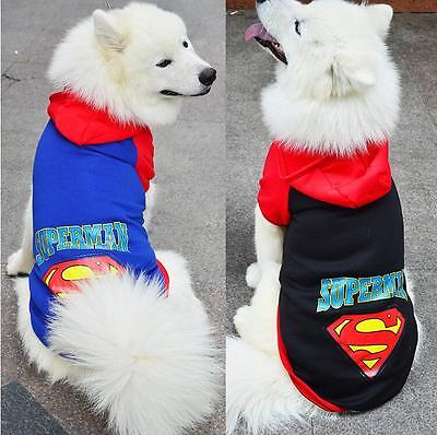Large Big Pet Dog Clothes Winter Hoodie Sweater Coat Costume Apparel 3XL-9XL New