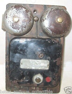 Vintage Very Rare Winding Door Bell As Is Basis