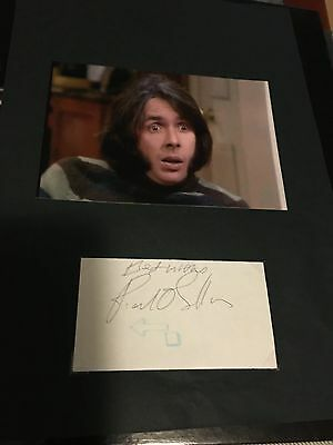 """Richard O'Sullivan hand signed autograph  actor """"Man about the house"""""""
