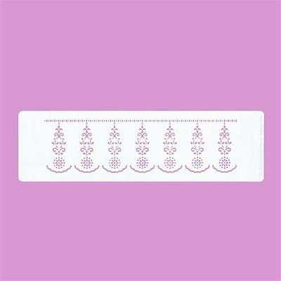 Cakecraft Damask Border Stencil By Cassie Brown for Cake decorating