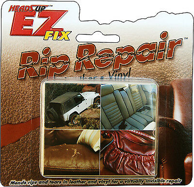 EZ FIX (TM) Leather & Vinyl Rip Repair Kit HU-210