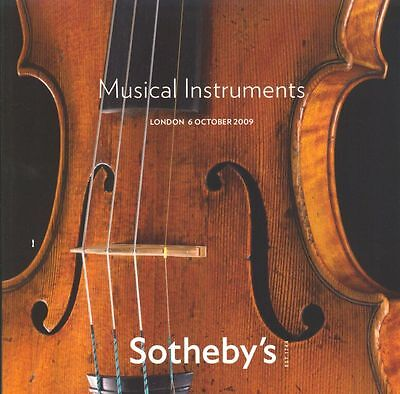 Sotheby's Catalogue Musical Instruments  06/10/2009