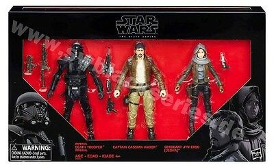 Star Wars - The Black Series 6 Inch / Rogue One 3-Pack / Target's Exclusive