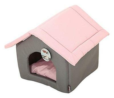 Dogstory 6Cou276Rs Pagode Maison Pour Chat Bicolore 47