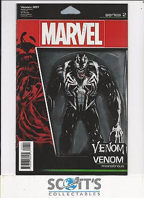 Venom  #1  New  (Action Figure Variant) Freepost