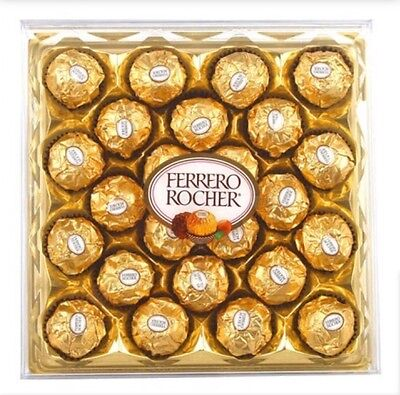 Box Of 24 Ferrero Rocher Chocolates Truffles–Ferrero Rocher 24 Pieces Boxed 300G